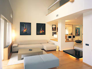 SERPİCİ's Mimarlık ve İç Mimarlık Architecture and INTERIOR DESIGN Living roomSofas & armchairs Tekstil Multicolored