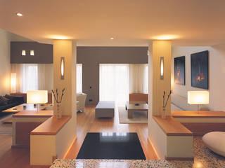 SERPİCİ's Mimarlık ve İç Mimarlık Architecture and INTERIOR DESIGN Living roomLighting Aluminium/Seng Yellow