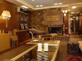 SERPİCİ's Mimarlık ve İç Mimarlık Architecture and INTERIOR DESIGN Living roomAccessories & decoration Komposit Kayu-Plastik Wood effect