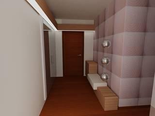 SERPİCİ's Mimarlık ve İç Mimarlık Architecture and INTERIOR DESIGN Corridor, hallway & stairsAccessories & decoration Komposit Kayu-Plastik Wood effect