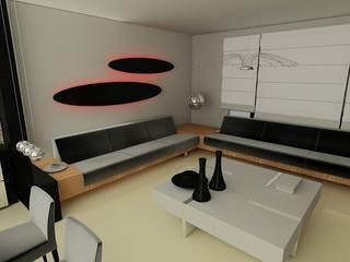 SERPİCİ's Mimarlık ve İç Mimarlık Architecture and INTERIOR DESIGN SoggiornoAccessori & Decorazioni PVC Bianco