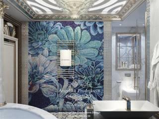 حمام تنفيذ Дизайн-студия элитных интерьеров Анжелики Прудниковой , كلاسيكي
