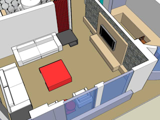 SERPİCİ's Mimarlık ve İç Mimarlık Architecture and INTERIOR DESIGN SoggiornoAccessori & Decorazioni PVC Variopinto