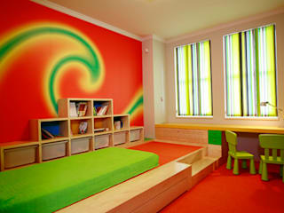 SERPİCİ's Mimarlık ve İç Mimarlık Architecture and INTERIOR DESIGN Nursery/kid's roomAccessories & decoration Komposit Kayu-Plastik Multicolored