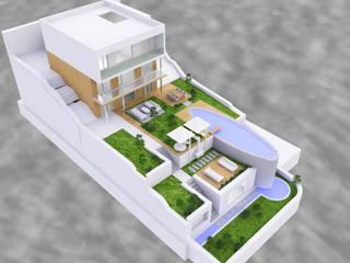 SERPİCİ's Mimarlık ve İç Mimarlık Architecture and INTERIOR DESIGN Villa Beton White