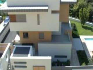 SERPİCİ's Mimarlık ve İç Mimarlık Architecture and INTERIOR DESIGN Villa PVC Effetto legno