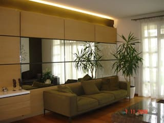 SERPİCİ's Mimarlık ve İç Mimarlık Architecture and INTERIOR DESIGN Living roomAccessories & decoration Komposit Kayu-Plastik Beige