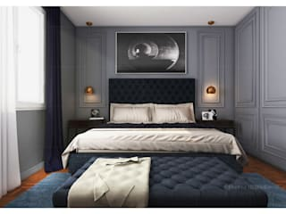 3D Bedroom Designs Modern style bedroom by ThePro3DStudio Modern