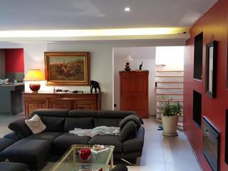 Extension d'une villa par selarl Marc RINUCCINI architecte