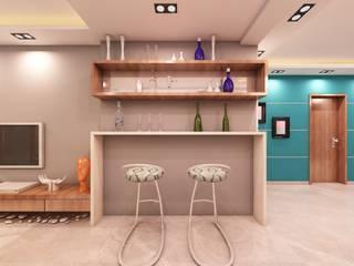 by Enside elevation interior pvt ltd