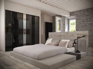 Casa Torre Anno 1000 Camera da letto minimalista di Aeon Studio Minimalista