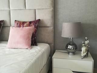 H&P Mobiliário e Decoração BedroomBeds & headboards Wood Pink