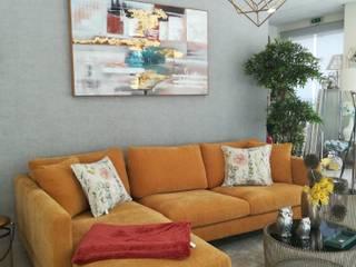 H&P Mobiliário e Decoração Living roomSofas & armchairs Textile Yellow