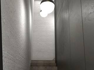 Pasillos, vestíbulos y escaleras de estilo moderno de Aeon Studio Moderno Madera Acabado en madera