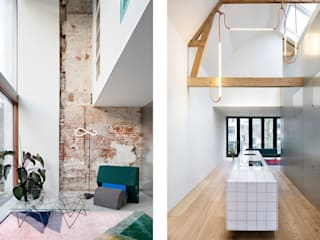 Matryoshka House Moderne woonkamers van Shift architecture urbanism Modern