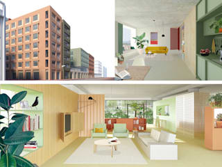 XS Deluxe Houthaven Moderne musea van Shift architecture urbanism Modern