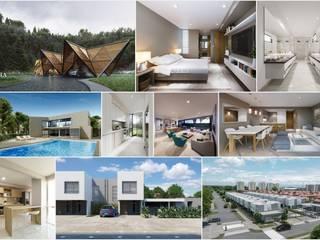Casas clássicas por UN estudio de Arquitectura Clássico