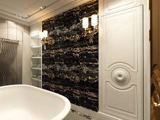 Classic style bathroom by STUDIO DESIGN КРАСНЫЙ НОСОРОГ Classic