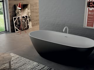 Aquaforte Technological Surface BathroomBathtubs & showers White