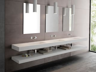 Aquaforte Technological Surface BathroomSinks White