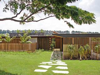 Gestão de Obra | Casa – Fazenda Boa Vista por LAF Construction Management Minimalista