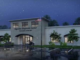 Structural and MEP Design - Ambulatory Surgery Center in Clayton, NC:  Clinics by S3DA Design, Modern