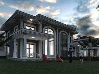 villa Hirazen / ikiz villa 3D Projelendirme ve Tasarım