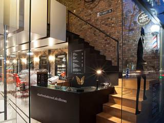 Boutique de Arquitectura ¨Querétaro [Sonotectura+Refaccionaria] Рабочий кабинет в стиле модерн Дерево Эффект древесины