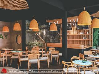 Dẫn đầu xu hướng với mẫu thiết kế nội thất quán cafe tại Hà Nội Thiết Kế Nội Thất - ARTBOX