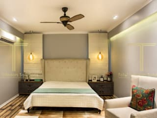 Peepal Chattarpur Farms: modern  by Total Interiors Solutions Pvt. ltd. ,Modern