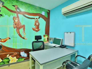 Veritaas Healthcare: modern  by Total Interiors Solutions Pvt. ltd. ,Modern