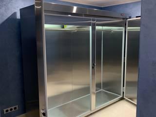 Холодильник для шуб с выносным холодильным блоком в Новой Москве. Вместимость 11 шуб Beauty&Cold ГардеробнаяХранение Металлический / Серебристый