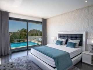 H&P Mobiliário e Decoração BedroomBeds & headboards Wood White