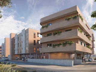 Hanna Park / Vacamuerta, Neuquén VZ estudio Casas modernas: Ideas, imágenes y decoración