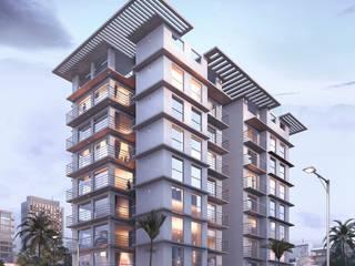 Edificio de viviendas US VZ estudio Casas multifamiliares