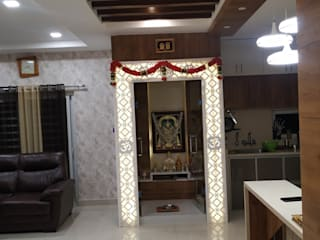 Complete home interiors in hyderabd by Sharma Interiors