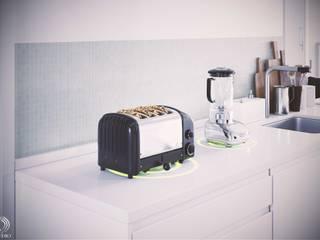 Smart Kitchen Technology by ID STUDIO DESIGN Modern