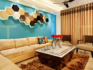 Central Park Resort Classic style living room by Total Interiors Solutions Pvt. ltd. Classic