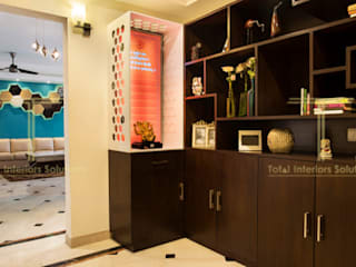 Central Park Resort Classic style study/office by Total Interiors Solutions Pvt. ltd. Classic
