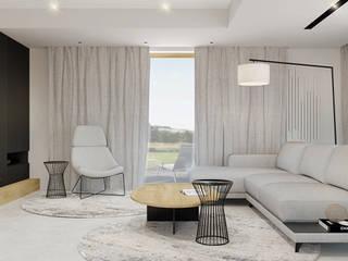 Salas de estar modernas por TIKA DESIGN Moderno