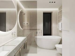 Banheiros minimalistas por TIKA DESIGN Minimalista