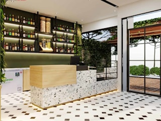 Thiết kế nội thất quán cafe J La - Hà Nội Thiết Kế Nội Thất - ARTBOX