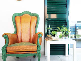 Revì Art - Upcycling Furniture Design Living roomSofas & armchairs Kayu Green
