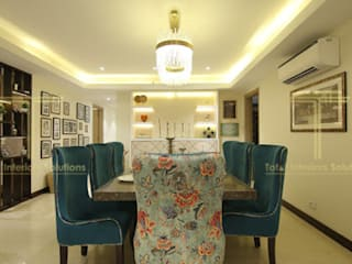 eclectic  by Total Interiors Solutions Pvt. ltd. , Eclectic