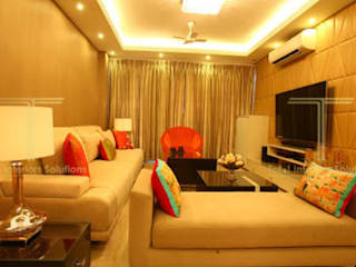 modern  by Total Interiors Solutions Pvt. ltd. , Modern