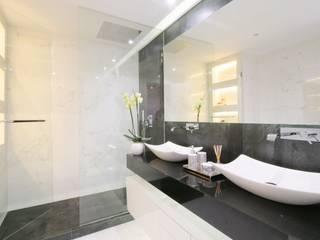 Projeto de Remodelação total de Apartamento em Lisboa Casas de banho modernas por SPACITUDE INTERIORS Moderno