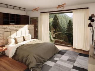 Modern Bedroom by Rexus Design 3D Modern