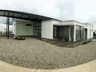 CASA EN COROZAL- NORTE DE SANTANDER Casas modernas de NAX - Arquitectura Moderno