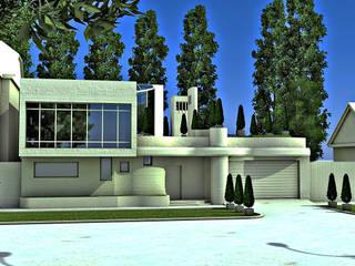 Дом в стиле артнуво от STUDIO DESIGN КРАСНЫЙ НОСОРОГ