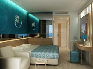 Modern style bedroom by 3d Antalya Modern